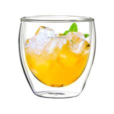 BLACK HAMMER 雙層玻璃杯250ml(雙入)