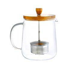 BLACK HAMMER 雅韻耐熱玻璃泡茶壺