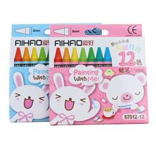 愛好12色迷你蠟筆