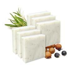 無患子草木抗菌皂80g(六入)