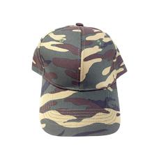 迷彩6片帽