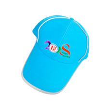 排汗布反光條帽