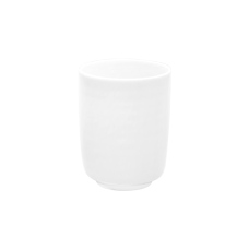 白色螺紋杯 2入組