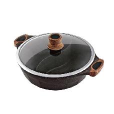 森活大理石七層不沾鴛鴦鍋