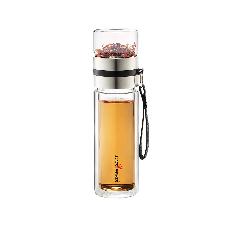 BLACK HAMMER茗品耐熱玻璃隔熱水瓶